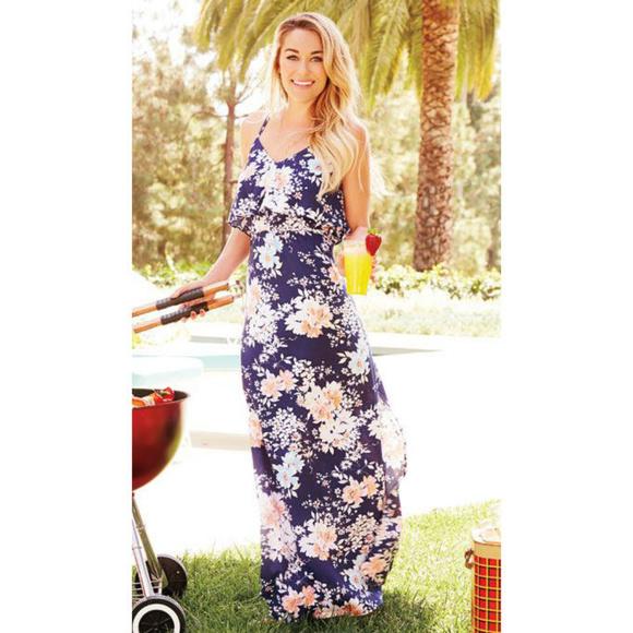 1a33aeb6b LC Lauren Conrad Dresses & Skirts - LC LAUREN CONRAD Kohl's Floral Ruffle Maxi  Dress
